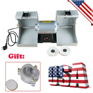 Dentist Polishing Machine Polisher Dental Jewelry Motor Lathe Bench Grinder gift
