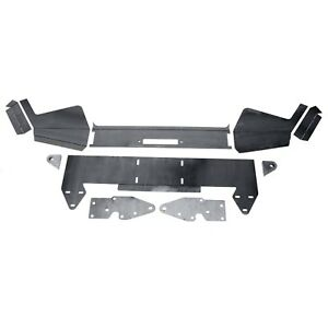 Diy Front Bumper Bare Metal Kit Winch Mount Plate For 1984 2001 Jeep Cherokee Xj