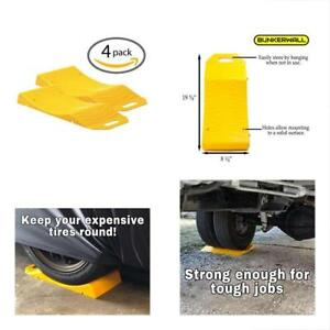 Tire Saver Ramps For Storage Flat Spot Tire Prevention Car Suv Trailer Gift New