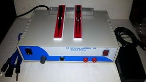 Basco Wet Field Bipolar Coagulator Isolated Bipolar Mini Diathermy Solid State