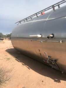 Stainless Steel Tank Round Double Walled 10 000 Gallons