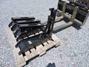 New Attachments Plus 8 X 30 Weld On Thumb For Mini Excavator Bobcat Cat Usa Made