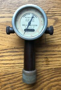 Vintage 1918 Ignition Timing Motor Gauge Coil Spark Tester