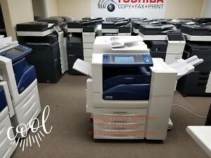 Xerox Workcentre 7535 Color Copier Meter Only 17k See Video Below