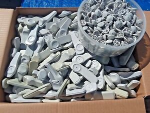 Lot Of 1000 Security Tags Anti Theft Sensors Retail Clothing With 1000 Pins