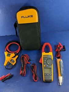 Fluke 376 Trms Clamp Meter Excellent Screen Protector Case Iflex I2500 18