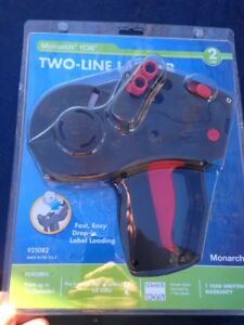Monarch 1136 Two line Labeler 925082 brand New Factory Sealed