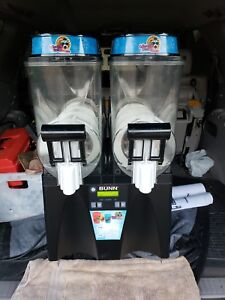 Bunn Commercial Slushie Machine Ultra 2 2 Flavor Slushie Margarita Machine
