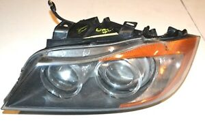 2006 2008 Bmw E90 Driver s Left Side Adaptive Xenon Hid Headlight Headlamp Oem