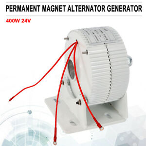 Permanent Magnet Alternator Generator 400w 24v 50hz For Wind Turbine Generator