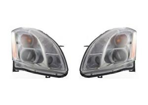 New Head Light For 2005 2006 Maxima Driver Passenger Side Set
