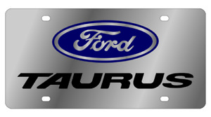 Ford Taurus Mirror Polished 3d Finish Logo Stainless Steel License Plate