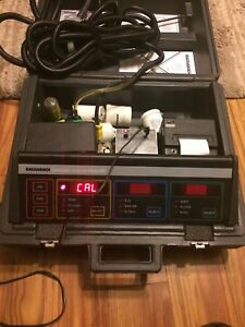 Bacharach Model 300 300nsx Nox So2 Combustion Analyzer Tested With Extras
