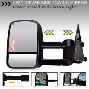 Pair Power Heated Flip Up Tow Mirrors Fits 02 09 Dodge Ram 1500 03 09 2500 3500