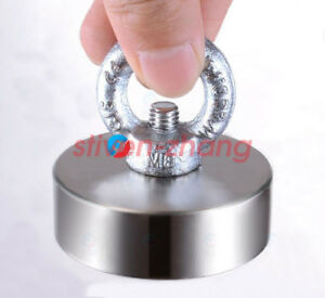 Salvage 60mm X 20 Mm Hole 10mm N50 Strong Rare Earth Disc Neodymium Magnets