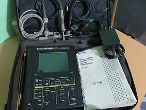 Tektronix Ths720p 100mhz Digital Real time Oscilloscope