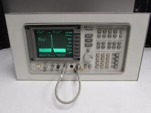 Hp 8563e Spectrum Analyzer 9khz To 26 5ghz Type N Rackmounted
