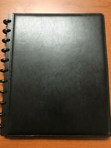 Levenger Circa Binders And Supplies Pack Leather Binder Letter Size