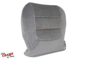 2003 Ford F 150 Xlt Super crew cab F150 driver Side Bottom Cloth Seat Cover Gray
