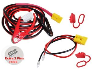 4ga 19ft Quick Disconnect Jumper booster Cable Set Tow service Tow Truck