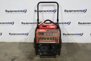 Milwaukee 4960 24 6000 Watt Honda Engine Gas Powered Generator