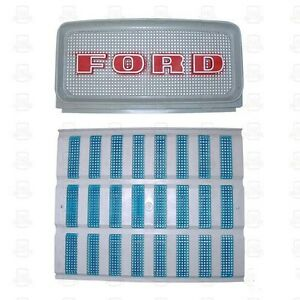 Ford Tractor Upper Lower Grill Set 2000 3000 4000 5000 D1nn8151a C9nn8a163ag