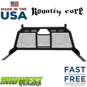 Royalty Core Rc88 Standard Height Headache Rack W Taillight 10 18 Ram 2500 3500