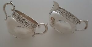 Sterling Silver Gorham Creamer And Double Handled Cup