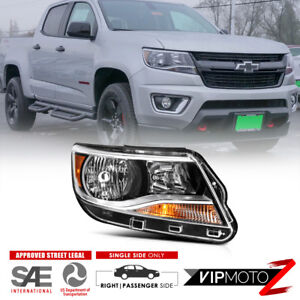 Rh Passenger Side Factory Style Replacement Headlight For 15 18 Chevy Colorado