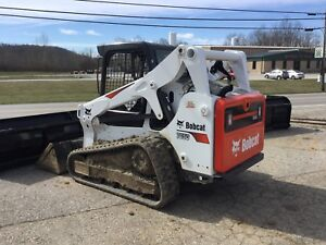 Bobcat T650 Skid Steer 2017 Smooth Or Tooth Bucket Nice Clean W Warranty