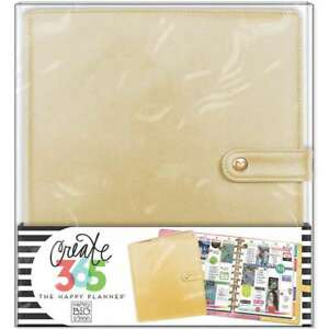 Create 365 Big Deluxe Cover Planner Gold 673807995482