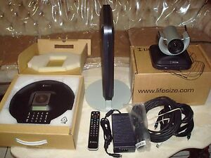 Lifesize Room 200 Video Conferencing W camera 200 phone micpod remote cables