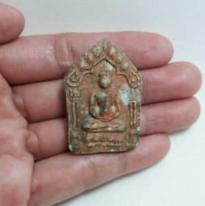 Thai Amulet Phra Khun Paen Powerful Bring Loves Happiness Good Luck