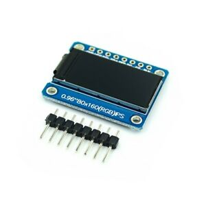 0 96 Inch 8pin Hd Color Ips Screen Tft Lcd Display Spi St7735 Module For Arduino