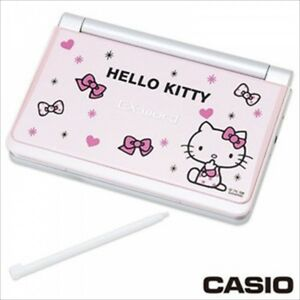 Casio Sanrio Hello Kitty Electronic Dictionary Ex word Xd sp 6600pk Pink Cute