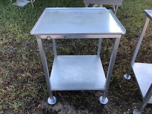 Stainless Steel Heavy Duty 25 5 X 22 25 Slicer Food Equipment Stand Nice Nsf