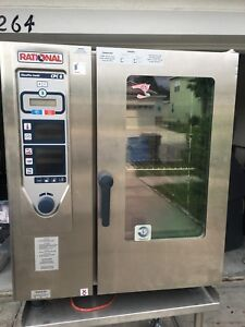 new Rational Climaplus Combi Cpc Model 101 101g Combo Industrial Steamer oven