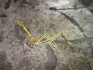 New Holland 545d Hydraulic Steering Lines Tractor 545 d 445c 445d 545c Ford