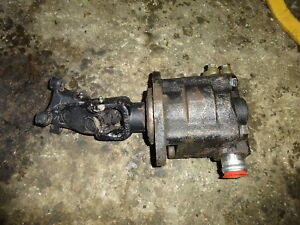 New Holland 545d Loader Hydrauluc Pump Drive Tractor 545 d 445c 445d 545c Ford