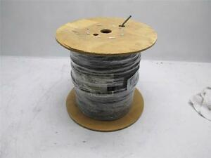 New Carol Brand General Cable Communication 8 Cond 22 Gauge Gray 1000ft