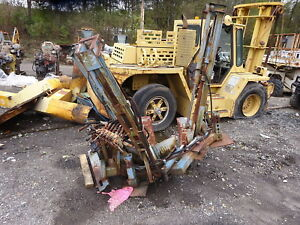 Caretree 24 Tree Spade Skid Steer Loader Quick Tach Bobcat