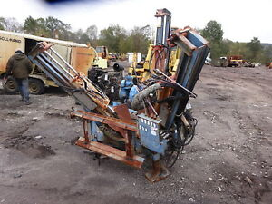 Caretree 32 Tree Spade Skid Steer Loader Quicktach Hydraulic