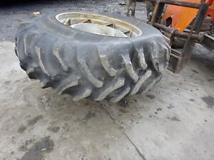 Deutz Dx160 Tractor 18 4 34 Tire Rim Wheel Dx 160 Allis Fahr