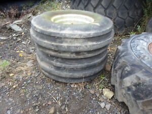 Deutz Dx90 Tractor 10 00 16 Tires Rims Wheels Dx 90 2wd Allis Fahr