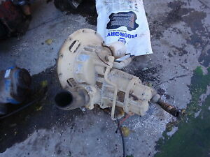 Ingersoll Rand 185 Cfm Airend Nice 2 Avail Late Model Air End Compressor Deere