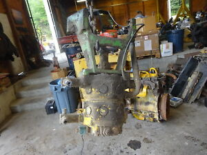John Deere 510 Backhoe Loader Hydraulic Pump Mount 500c 510 b