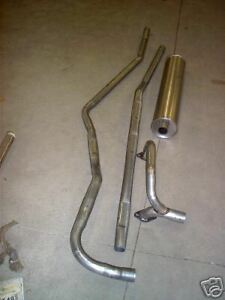 1941 Lincoln Continental Coupe V12 Single Exhaust Aluminized