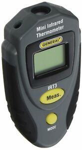 General Tools Irt3 Mini Laser Thermometer Thermal Detector Infrared