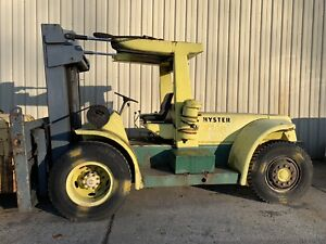 Hyster H250e Pneumatic Fork Lift 8 Forks Taylor Toyota