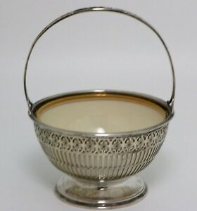 Sterling Silver Sugar Basket Bowl Lenox Liner Retailed Bailey Banks And Biddle